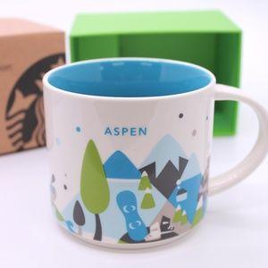 Starbucks Aspen You Are Here Series